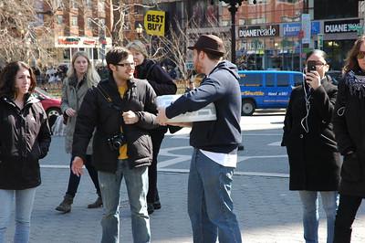Bradley Manning NYC demo Mar. 20, 2011