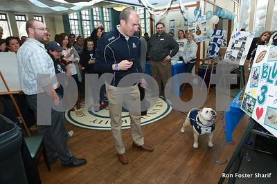 Butler Univ. Mascot Blue II Retirement: Indpl's, Ind