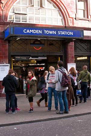 Camden Market - I was a street trader here