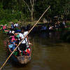 En el marco de la conmemoración de los 15 años de la operación Génesis, la Comisión Intereclesial de Justicia y Paz (Cijp) organizó un viaje por los ríos Salaquí y Atrato en el Chocó en diciembre de 2012. Unas 90 personas, campesinos desplazados, defensores y defensoras de derechos humanos colombianos e internacionales participaron en el evento.