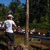 """La presencia de testigos internacionales aquí es algo excepcional en esta zona de selvas aisladas. Viajamos a lugares donde se desarrollaron bombardeos en el marco de la operación """"Génesis"""" donde se realizaron eventos de reconstrucción de la memoria colectiva."""