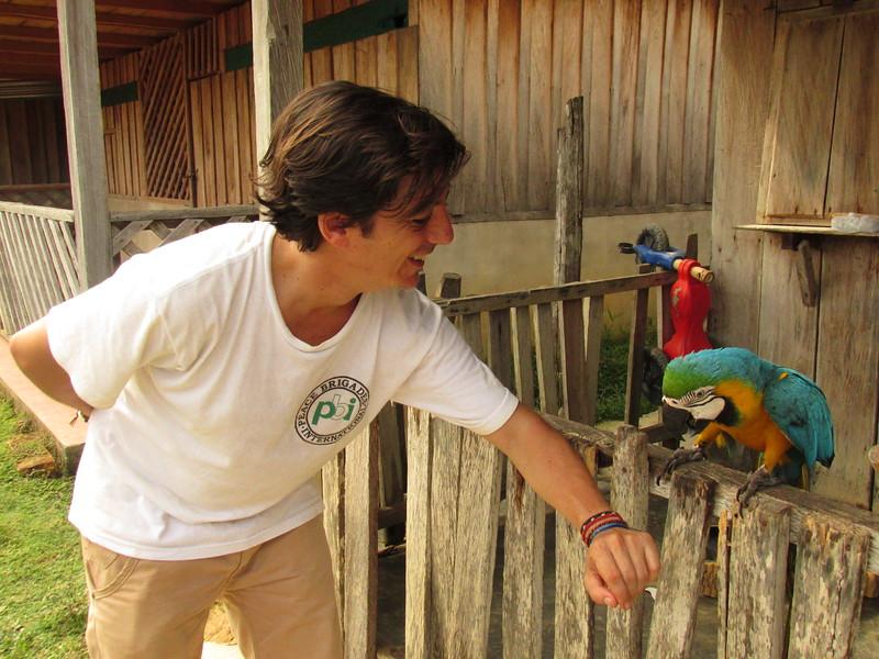 Durante el acompañamiento tuvimos el placer de conocer no solamente a la gente del pueblo, sino ¡también a sus mascotas!
