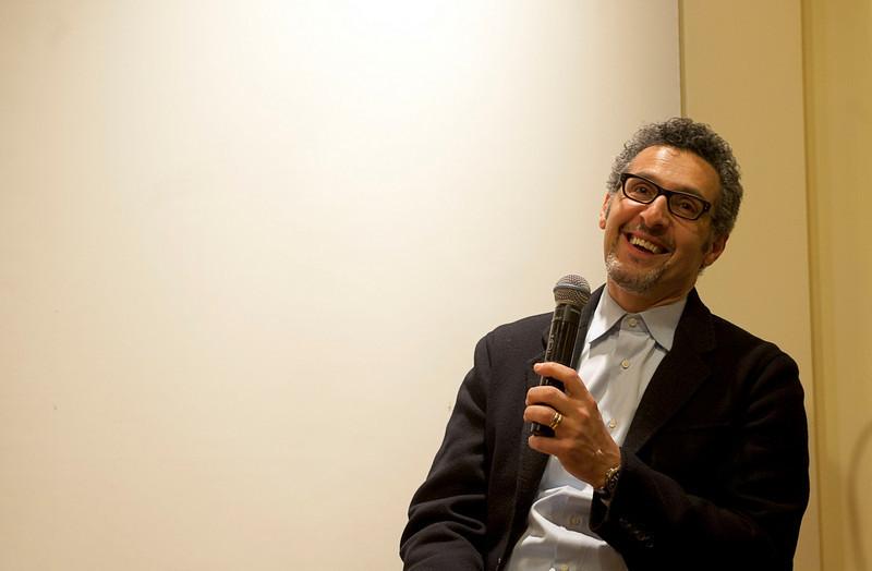 "John Turturro attends the discussion, entitled ""Naples: Facts and Fiction"", at the New York University's Casa Italiana Zerilli-Marimò.<br /> New York, January 20th, 2011<br /> © Laura Razzano"