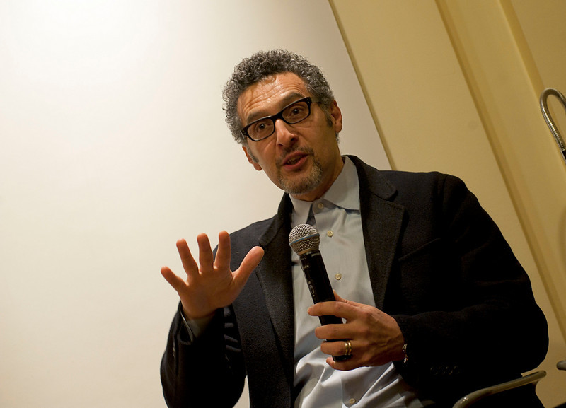 "John Turturro talks during the discussion, entitled ""Naples: Facts and Fiction"" at the New York University's Casa Italiana Zerilli-Marimò.<br /> New York, January 20th, 2011"