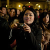 Chinese community at the Saint Patrick's Old Cathedral attending the visit of Cardinale Sepe.<br /> © Laura Razzano