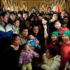 Chinese community at the Saint Patrick's Old Cathedral and Cardinale Sepe.<br /> © Laura Razzano