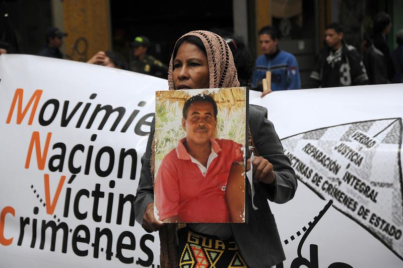 En mayo de 2010 fue asesinado Rogelio Martínez de 48 años, integrante del Movice – Capítulo Sucre.<br /> © PBI
