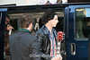 "Jack White of the White Stripes, arriving at the Beacon Theater in NY, for his guest appearance with the Rolling Stones, which was filmed by Martin Scorsese, for the Fall 2007 release ""Shine a Light"""
