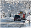 Leaving the scene through what looks like a tunnel of snow and ice!<br /> For those that might ask... No, I don't chase fire or police vehicles... Also, I stay a safe distance away from and don't interfere with the responders... The appropriate command personnel know, that on occasion, I will be on scene. <br /> Any questions please email:Bob@ramspics.net