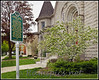 "Lawrence Avenue Methodist Church in Charlotte MI is one of 48 ""Michigan Historical Sites"" in Eaton County.<br /> May 2011."