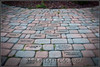 Memorial bricks, part of the Memorial Garden in Bennett Park, Charlotte Michgan.
