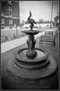 Homage to the fountain that (early 1900's) stood on the E. Lawrence Ave. curve.<br /> This (smaller) replica is adjacent to the CVS pharmacy / retail store on the corner of Cochran and Seminary.