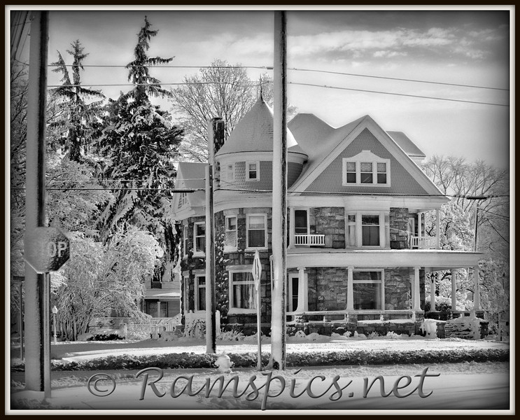 One of several images taken the morning after our first snow storm of the 2011 season.