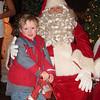 My tween on Santa