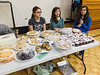 Christmas Bazaar at James Bay Education Centre in Moosonee. students selling snacks for Moosonee Public School.  Left to Right:Danielle<br />  Innes, Myopin Cheechoo & Ashley Wabano.