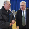 "Mayor Menino with the former pastor of St. Peter's Father Richard ""Doc"" Conway."