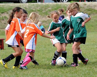 Anna Ouellette soccer game