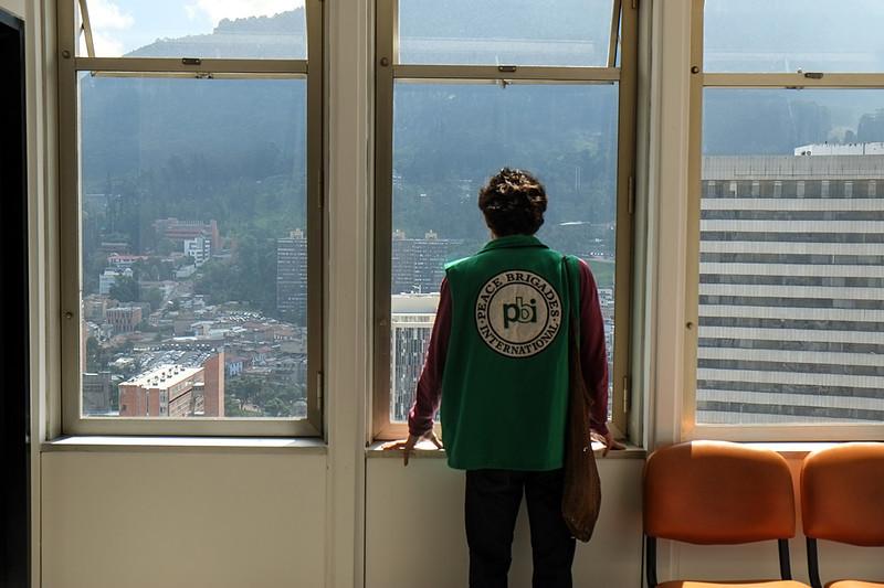 En Bogotá visitan las oficinas de las organizaciones que acompaña PBI. En pocos días estarán integrándose en los equipos de PBI en Urabá y el Magdalena Medio.