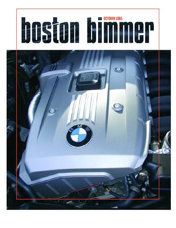 Boston Chapter newsletter, October, 2005