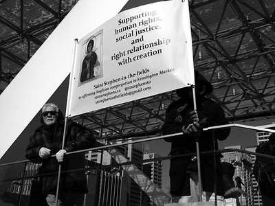 Counter-protest to Fight Islamophobia - Toronto