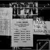 Wine shop, Roslindale Village. March 24, 2020.