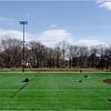 Back Bay Fens. Roberto Clemente Field. April 25, 2020.