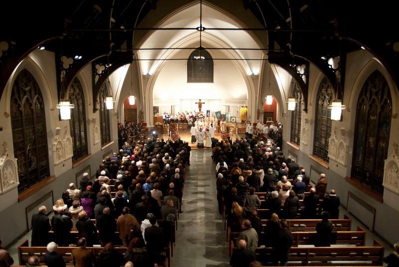 Saint Luke's Church, Whitestone, Queens.<br /> New York, January 17th, 2011