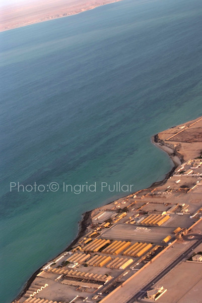 Aireal view of Dakhla