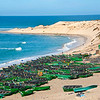 Berda fishing village south of Dakhla, Morocco
