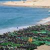 Berda fishing village (squad) south of Dakhla, Morocco