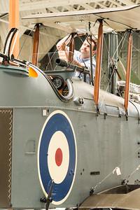 Rare De Havilland DH9 Aircraft at Duxford UK