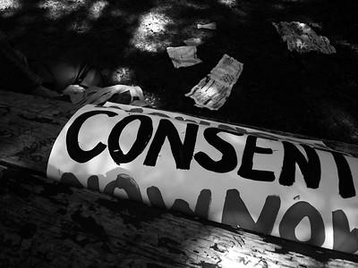 Demonstration Against Rape Culture