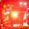 A fire in Westchester