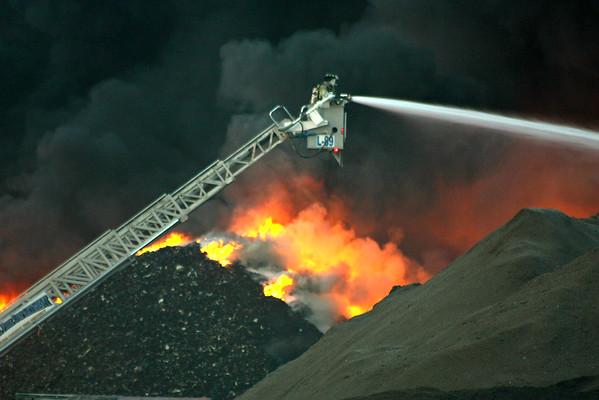 NEWS Dons Car Crushing FIRE