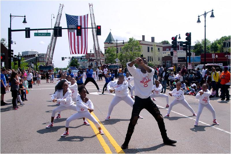 Major Hype Majorette Dance Squad.