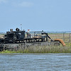 Rockbridge Dredge in Jekyll Creek 04-08-19