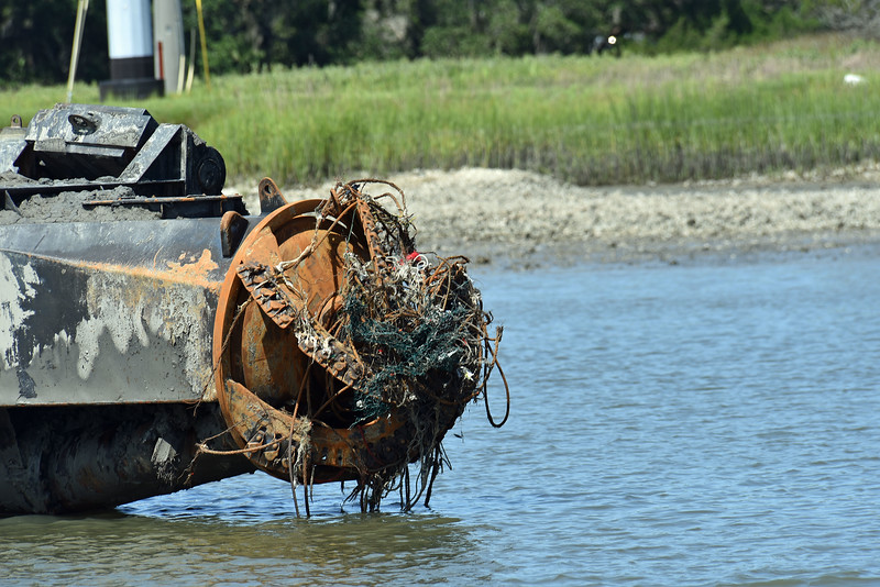 Rockbridge Dredge in Jekyll Creek 06-18-19