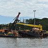 Rockbridge Dredge in Jekyll Creek at Jekyll Wharf 06-16-19