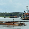 Rockbridge Dredge in Jekyll Creek at Jekyll Wharf 06-11-19