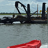 Jekyll Wharf Dredging - Our Missing Flag 06-07-19