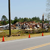 Tornado damage at the McIntosh County Industrial Park including the Outboard Rejuvenation warehouse, Gateway Behavioral Health Services building, and the McIntosh Emergency Medical Services building on May 11th, 2008 near Darien Georgia in McIntosh County