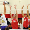 Elyria vs North Royalton volleyball :