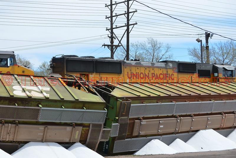 Colorado Springs train derailment near Martin Drake Power Plant.