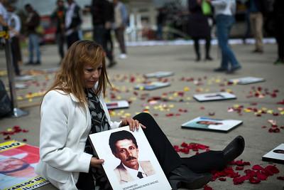 Los desaparecidos nunca caerán en el olvido.