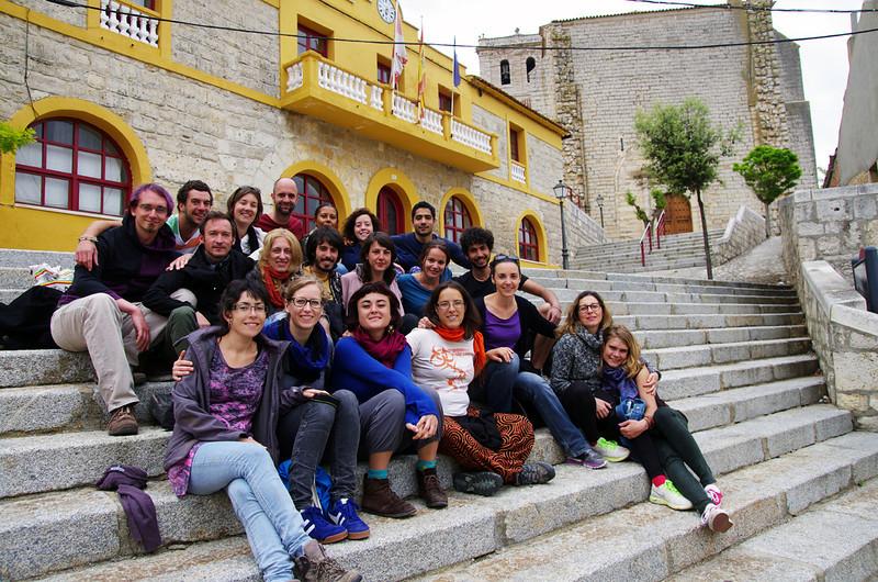 Nuestro último Encuentro de Formación tuvo lugar, en junio de 2013, en las Cortas de Blas. Una pequeña finca ecológica, ubicada a unos 45 minutos de Valladolid (España). En total, fuimos un grupo de 18 personas de diferentes lugares del mundo: Alemania, España, Estados Unidos, Francia, Holanda, Italia, México, Noruega y República Checa.