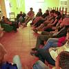 Walter Agredo Muñoz, miembro de la Fundación Comité de Solidaridad con Presos Políticos (FCSPP), organización acompañada por PBI Colombia, participó en el Encuentro como invitado.
