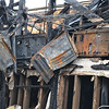 Flat screen televisions above the bar area and near the kitchen. Investigators determined that the fire was caused by an electrical shortage and originated from the southeast corner of the restaurant, opposite of the kitchen.