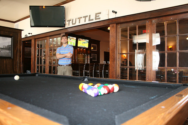 The billiards room is now unrecognizable. Anthony will now reevaluate the situation in hopes of opening up an establishment in Tuttle.