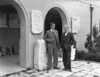 AMERICAN SCHOOL OF CLASSICAL STUDIES AT ATHENS (ASCSA) Director, Richard (Dick) Stillwell, and architect W. Stuart Thompson at the opening ceremony of the Corinth Museum, 1934