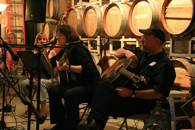 Stonefield-Winery owner Natalie playing